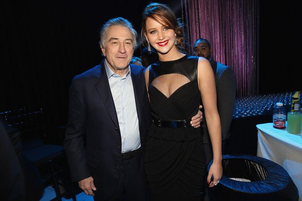 Robert De Niro Jennifer Lawrence