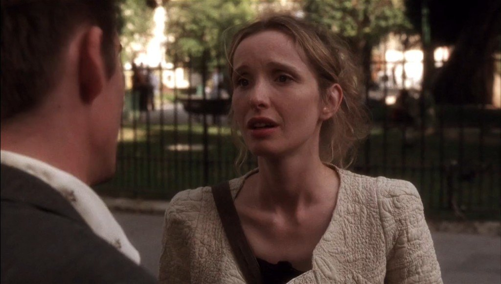 Julie Delpy before sunset