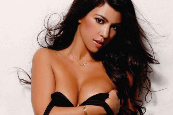 Kardashian nackt Kourtney  Kardashian and
