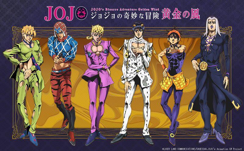 JoJo's Bizarre Adventure Season 6: Release Date, Characters, English Dub