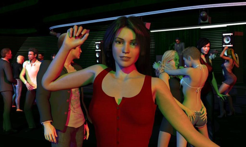 virtual dating simulator ariane