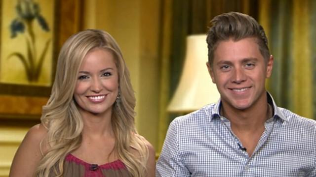 Emily Maynard and Jef Holm