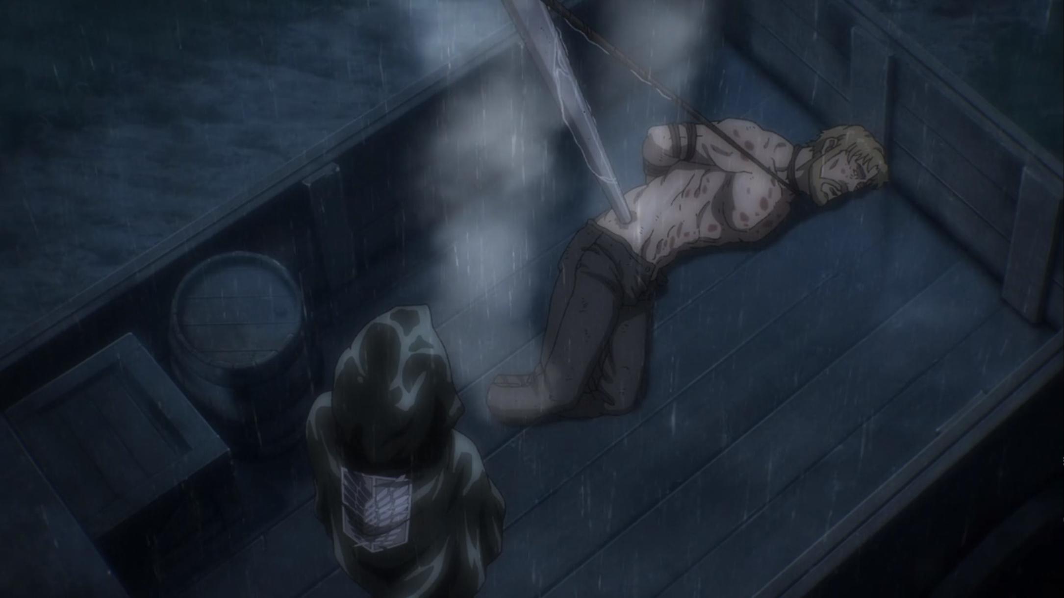 Attack On Titan Season 4 Episode 16 Levi killed zake