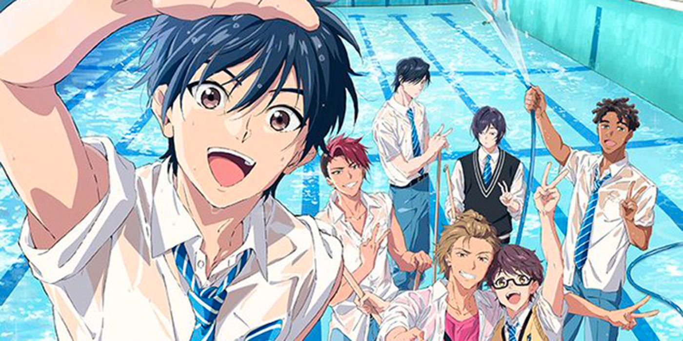 Re-Main  water polo club anime